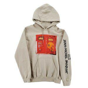JEAN MICHEL BASQUIAT Red Kings 1981 Art Hoodie S